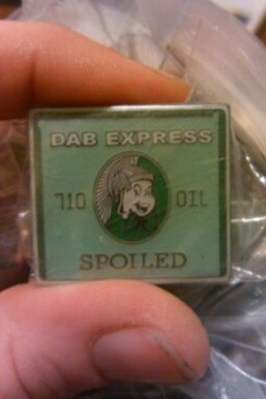 spoiled dab express pin