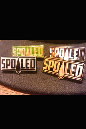 spoiled apparel pin